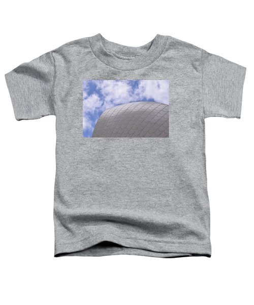 Sydney Opera House Roof Detail Toddler T-Shirt by Sandy Taylor