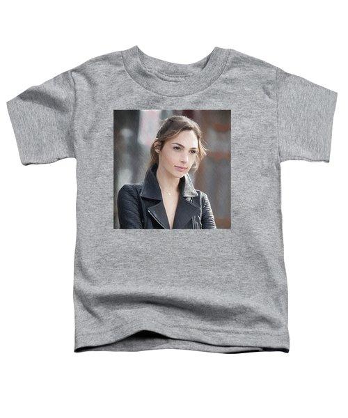 Gal Gadot Art Toddler T-Shirt by Best Actors