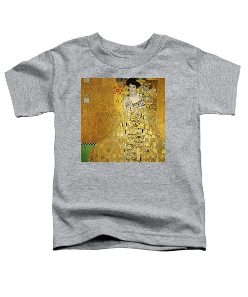 Portrait Of Adele Bloch-bauer I Toddler T-Shirt by Gustav Klimt