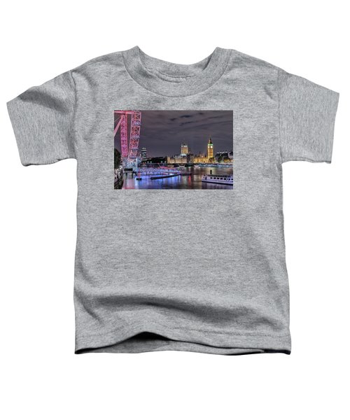 Westminster - London Toddler T-Shirt by Joana Kruse