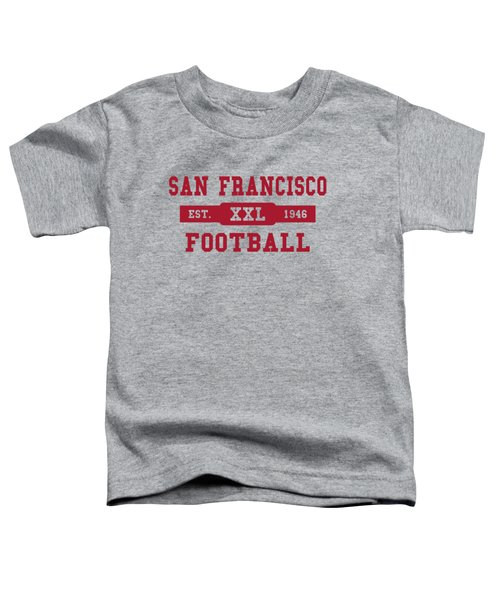 49ers Retro Shirt Toddler T-Shirt by Joe Hamilton