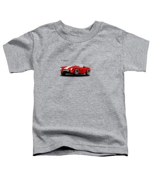 Ac Cobra Mk2 1963 Toddler T-Shirt by Mark Rogan