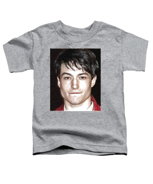 Actor And Musician Ezra Miller Toddler T-Shirt by Best Actors