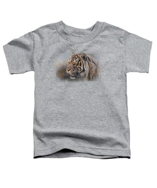 Alert Bengal Toddler T-Shirt by Jai Johnson