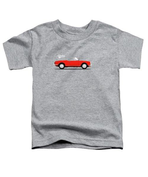 Alfa Giulia Spider 1964 Toddler T-Shirt by Mark Rogan