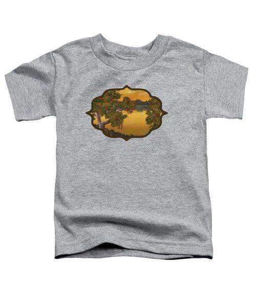 Apple Sunset Toddler T-Shirt by Anastasiya Malakhova