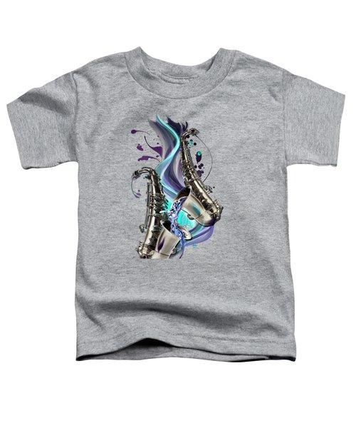 Aquarius Toddler T-Shirt by Melanie D