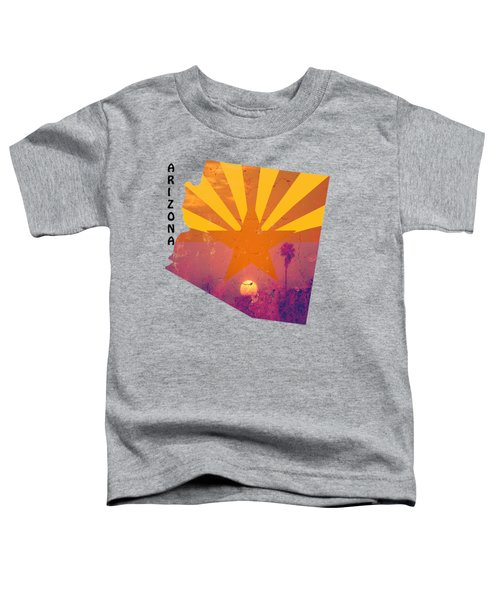 Arizona Toddler T-Shirt by Beverly Guilliams