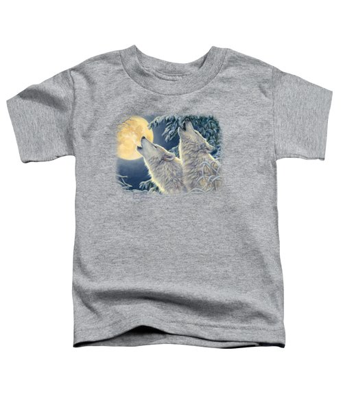 Moonlight Toddler T-Shirt by Lucie Bilodeau