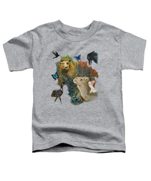 Sacred Journey Toddler T-Shirt by Deborha Kerr