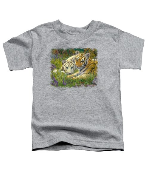 Sisters Toddler T-Shirt by Lucie Bilodeau