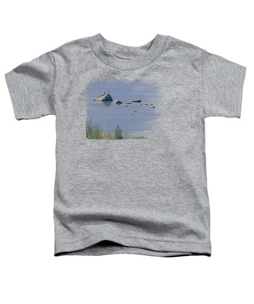 Gull Siesta Toddler T-Shirt by Ivana Westin