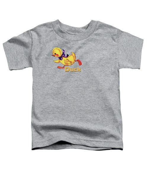 Baby Duckling And Eggs Pattern Toddler T-Shirt by Tina Lavoie