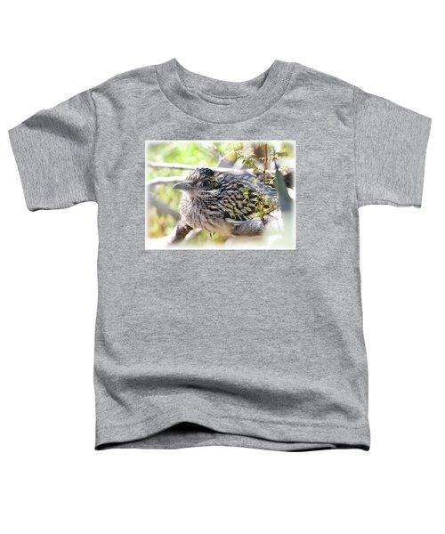 Baby Roadrunner  Toddler T-Shirt by Saija Lehtonen