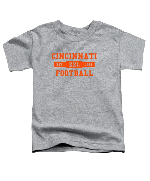 Bengals Retro Shirt Toddler T-Shirt by Joe Hamilton
