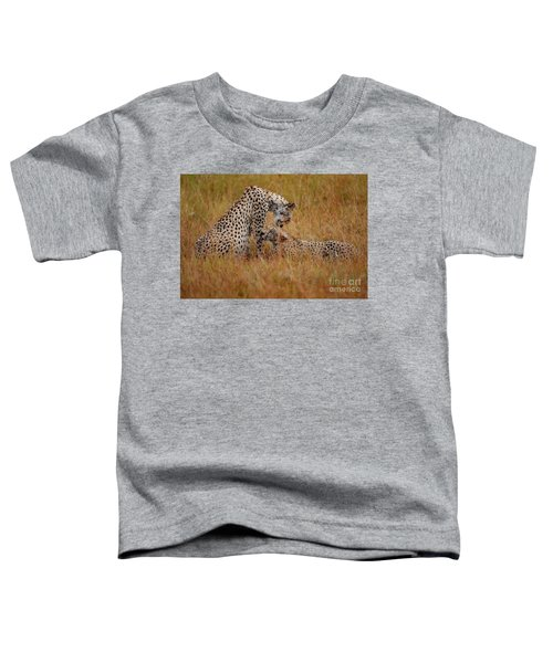 Best Of Friends Toddler T-Shirt by Stephen Smith