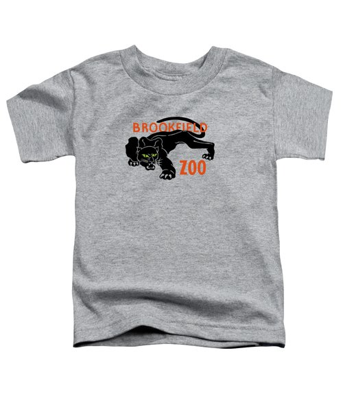 Brookfield Zoo Wpa Toddler T-Shirt by War Is Hell Store