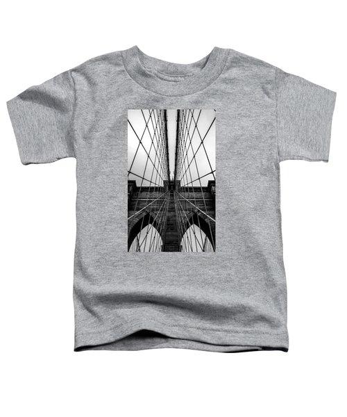 Brooklyn's Web Toddler T-Shirt by Az Jackson