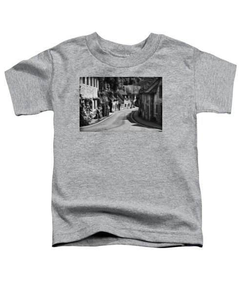 Castle Combe England 2 Bw  Toddler T-Shirt by Mike Nellums