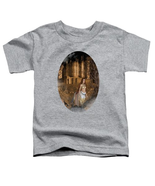 Centaur Castle Toddler T-Shirt by G Berry