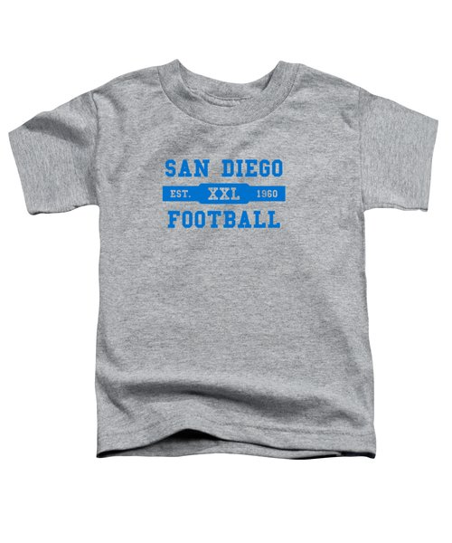 Chargers Retro Shirt Toddler T-Shirt by Joe Hamilton