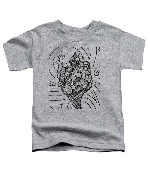 Chicken Master Toddler T-Shirt by Erki Schotter