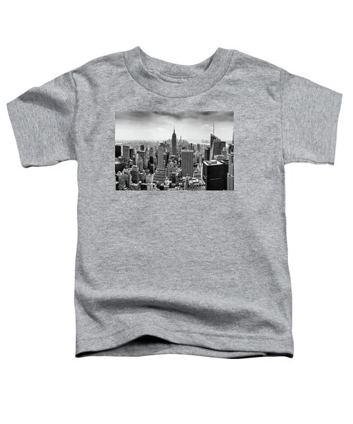 Classic New York  Toddler T-Shirt by Az Jackson