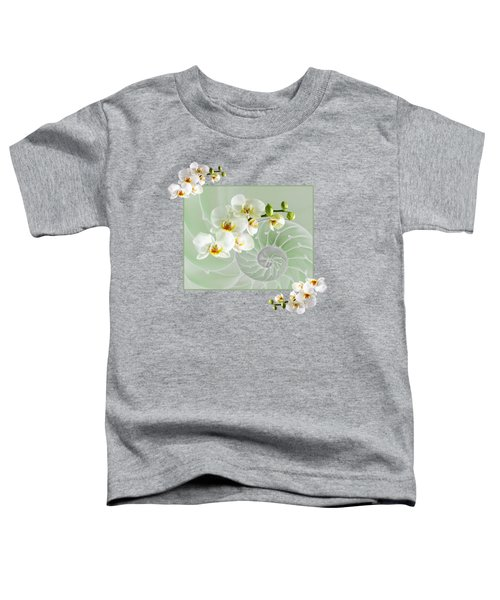 Cool Green Fusion Toddler T-Shirt by Gill Billington