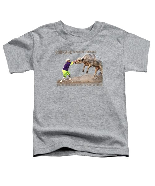 Courage Toddler T-Shirt by Sanford Tullis
