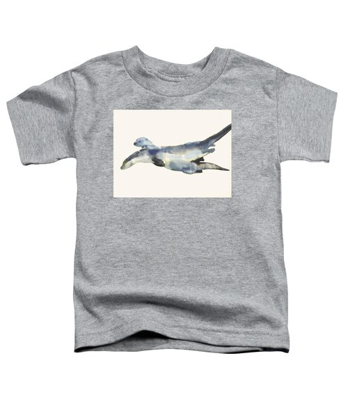 Courting Otters  Toddler T-Shirt by Mark Adlington