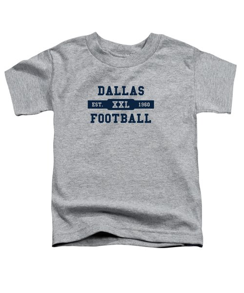 Cowboys Retro Shirt Toddler T-Shirt by Joe Hamilton