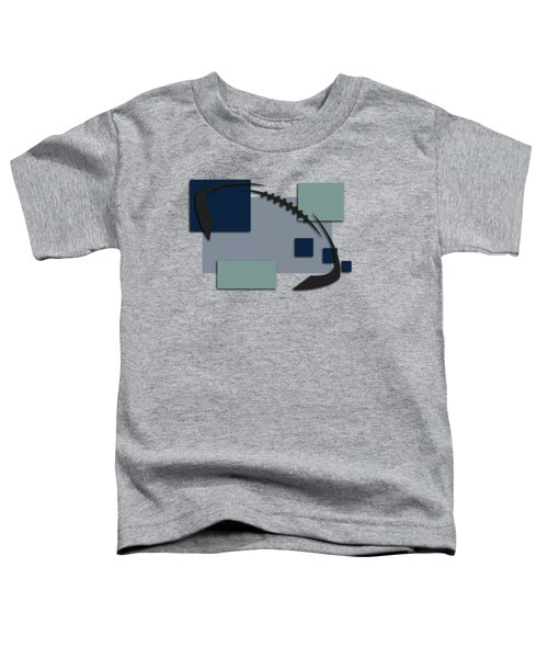 Dallas Cowboys Abstract Shirt Toddler T-Shirt by Joe Hamilton
