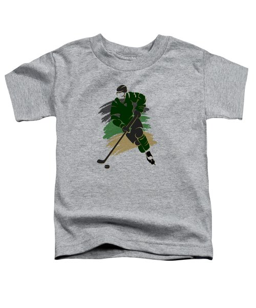 Dallas Stars Player Shirt Toddler T-Shirt by Joe Hamilton