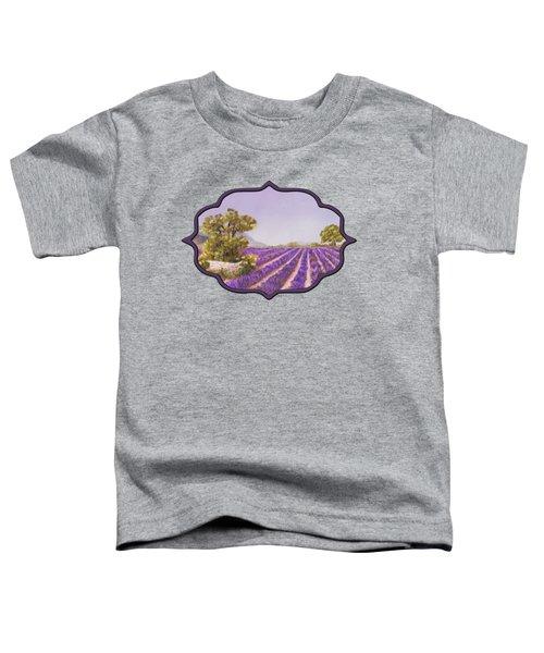 Drome Provence Toddler T-Shirt by Anastasiya Malakhova