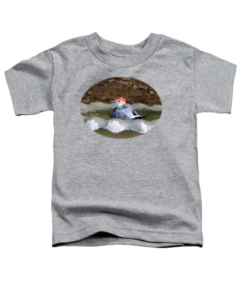 First Bath Toddler T-Shirt by Sue Melvin