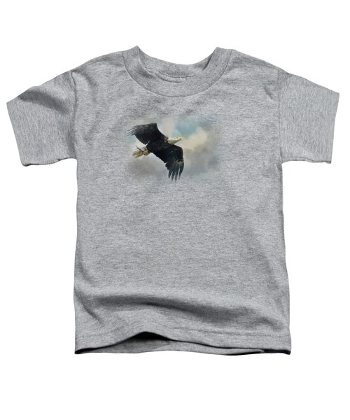 Fish In The Talons Toddler T-Shirt by Jai Johnson