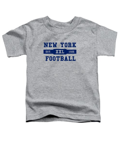 Giants Retro Shirt Toddler T-Shirt by Joe Hamilton