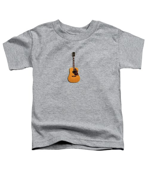 Gibson Hummingbird 1968 Toddler T-Shirt by Mark Rogan