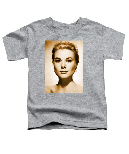 Grace Kelly Toddler T-Shirt by Opulent Creations