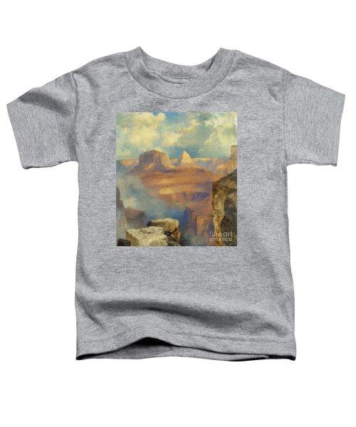 Grand Canyon Toddler T-Shirt by Thomas Moran