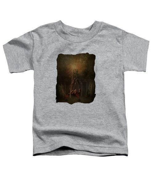 Guardians Of The Forest Toddler T-Shirt by Terry Fleckney