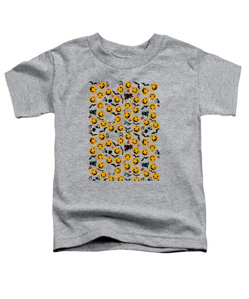 Halloween Party  Toddler T-Shirt by Mark Ashkenazi