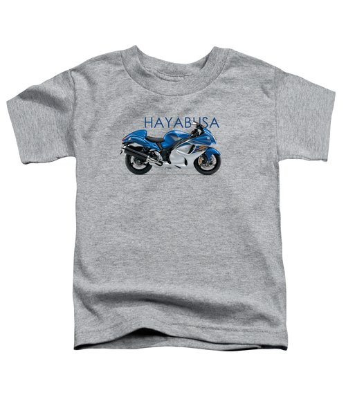 Hayabusa In Blue Toddler T-Shirt by Mark Rogan