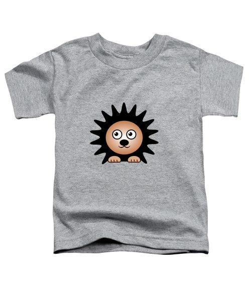Hedgehog - Animals - Art For Kids Toddler T-Shirt by Anastasiya Malakhova