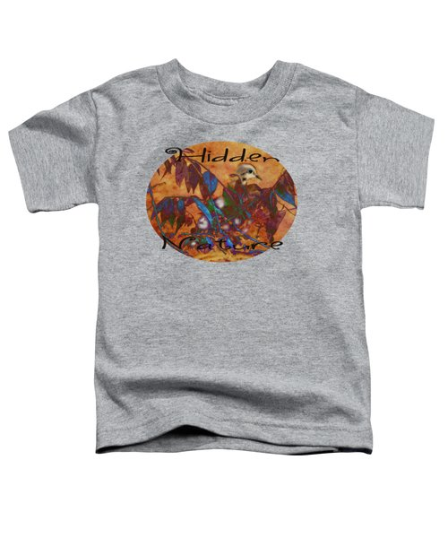 Hidden Nature - Abstract Toddler T-Shirt by Anita Faye