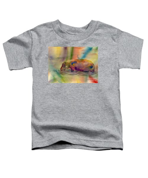 Hippy Dippy Toddler T-Shirt by Amy Kirkpatrick