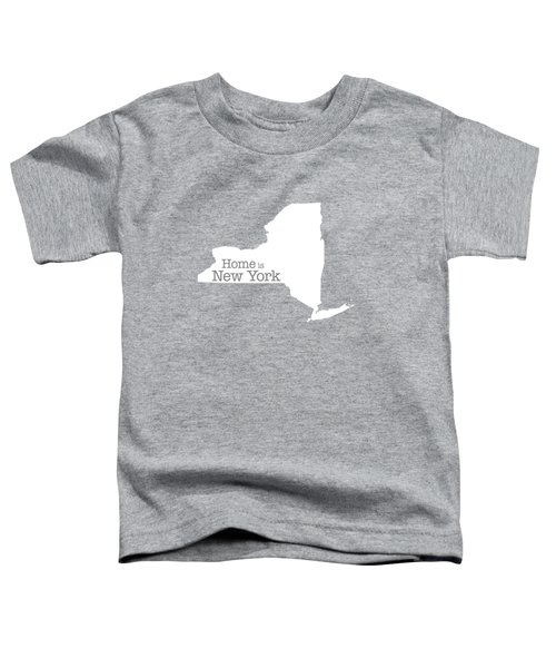 Home Is New York Toddler T-Shirt by Bruce Stanfield