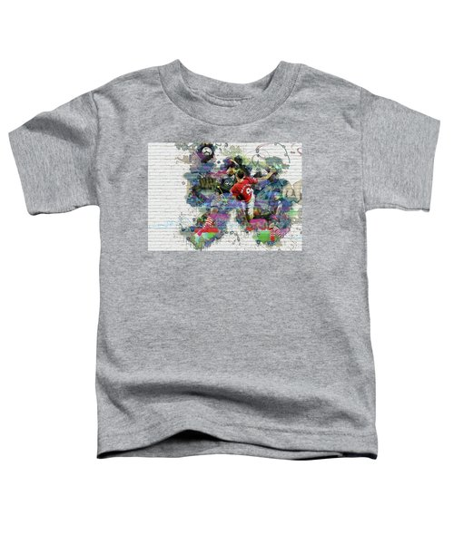 Ibrahimovic  Toddler T-Shirt by Don Kuing