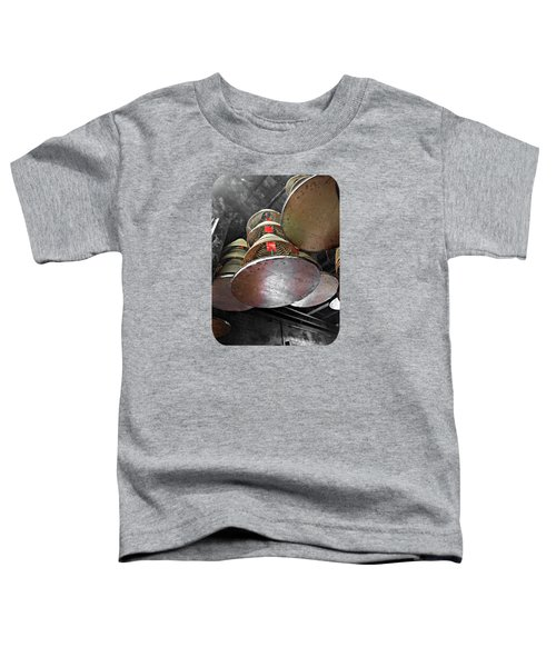 Incense Trays Toddler T-Shirt by Ethna Gillespie