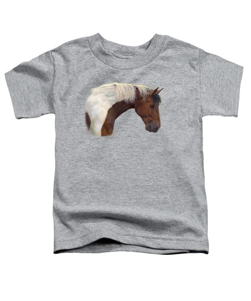 Intrigued Toddler T-Shirt by Lucie Bilodeau